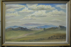 Джидинский пейзаж. Холст, масло, р-р 43х66. 15000 руб.