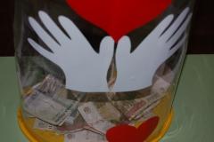 Оформление ящика для пожертвований в дсаду